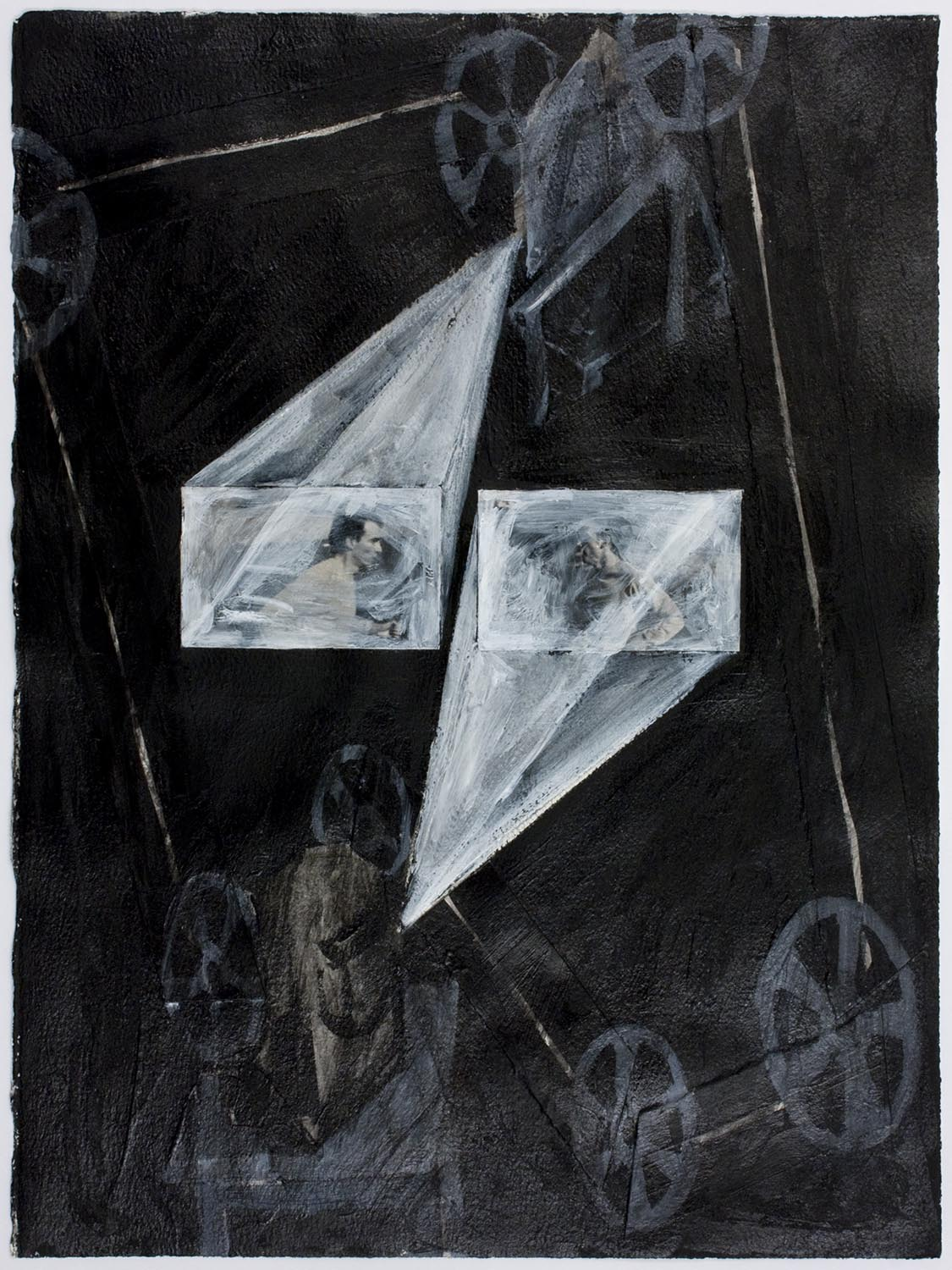 Double projection: K court (Double Projection: K Is Running), 1989