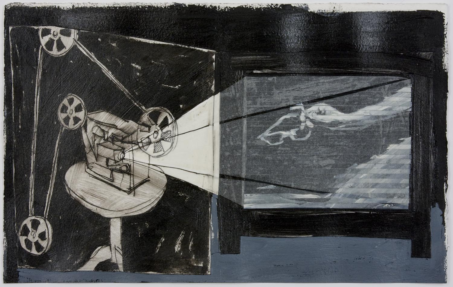 Projection: main et lunettes (Projection: Hand And Glasses), 1989