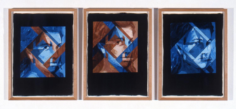 Tête entre quatre murs (Head Between Four Walls), 1989