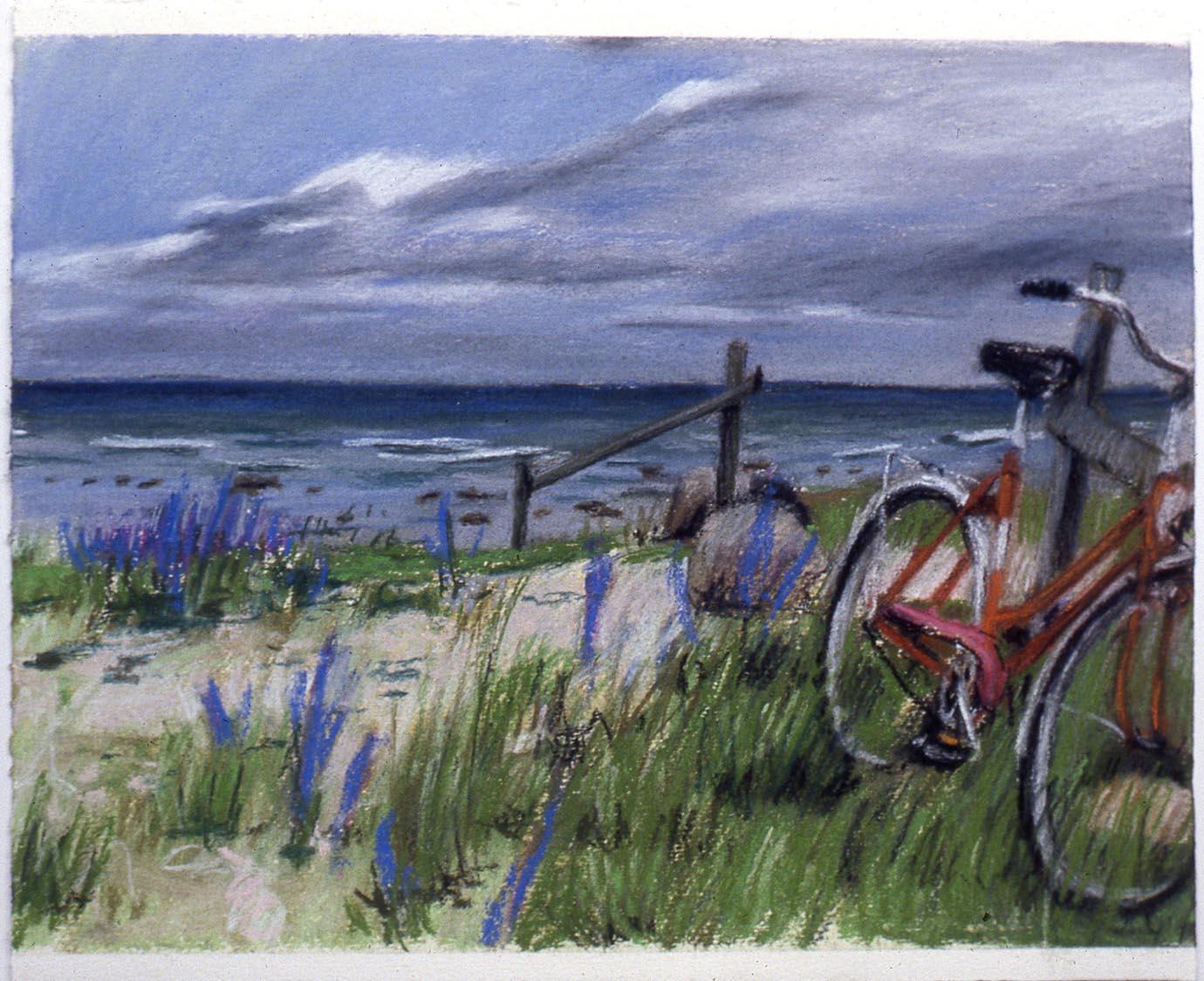 Vélo à la plage, 1981