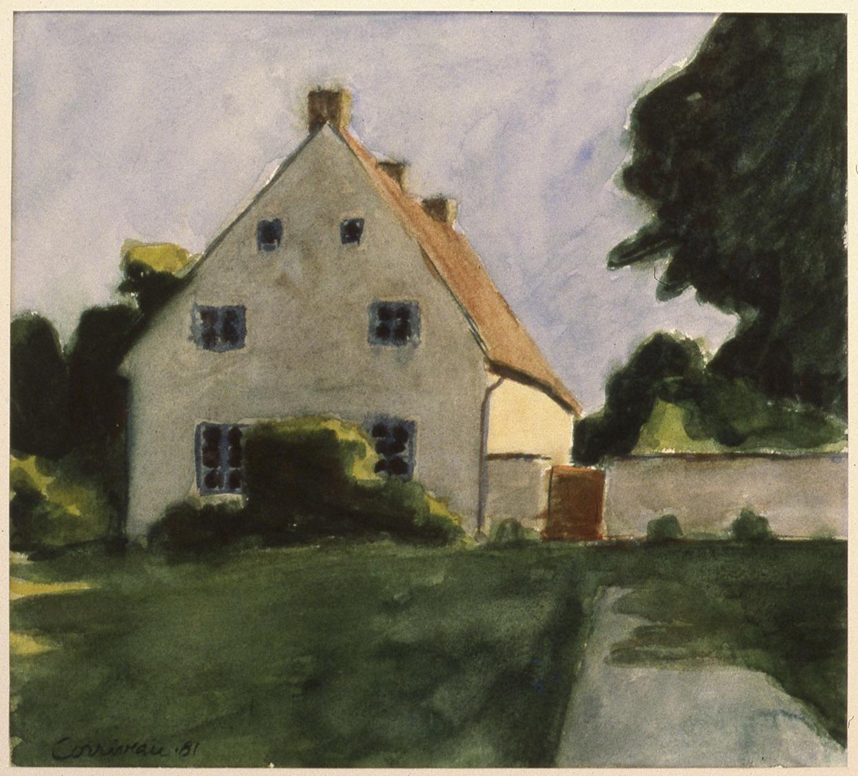 Maison au couchant, 1981