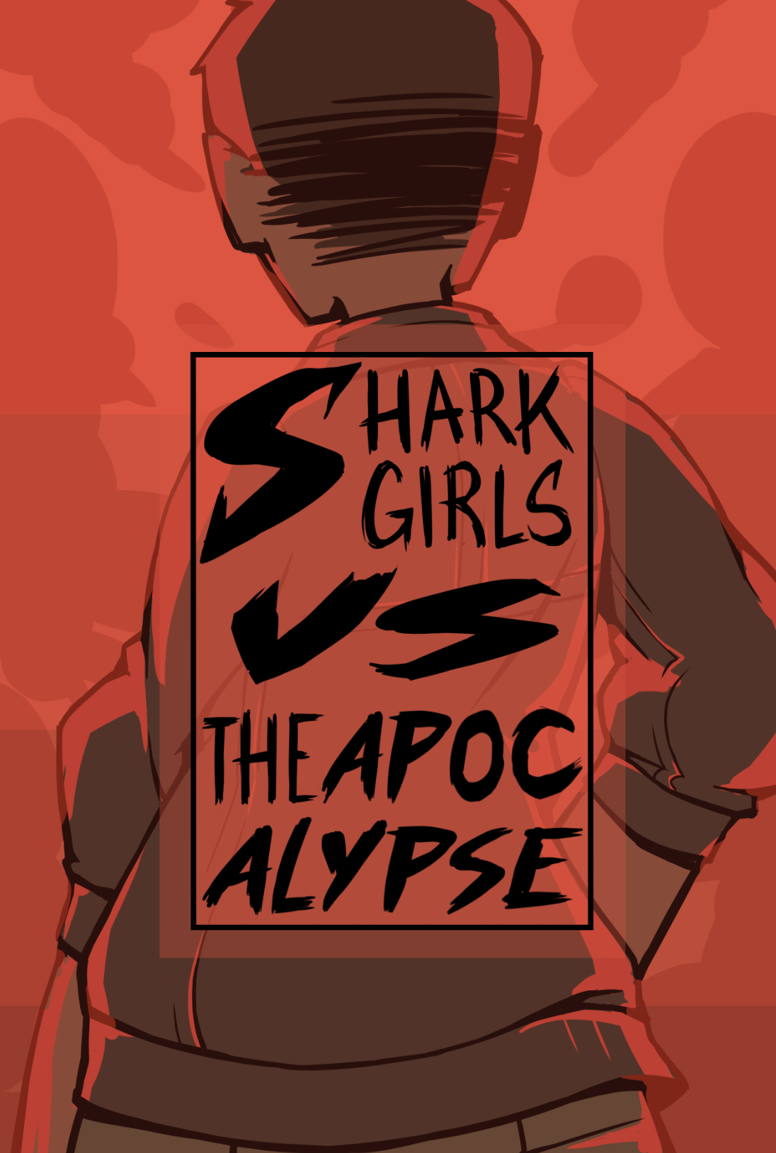 Sharkgirls VS. the Apocalypse (Comic)  A series of vignettes focusing on the everyday life of four high school delinquents in the year leading up to the apocalypse.  Loosely inspired by my experiences growing up in a small Southern town.