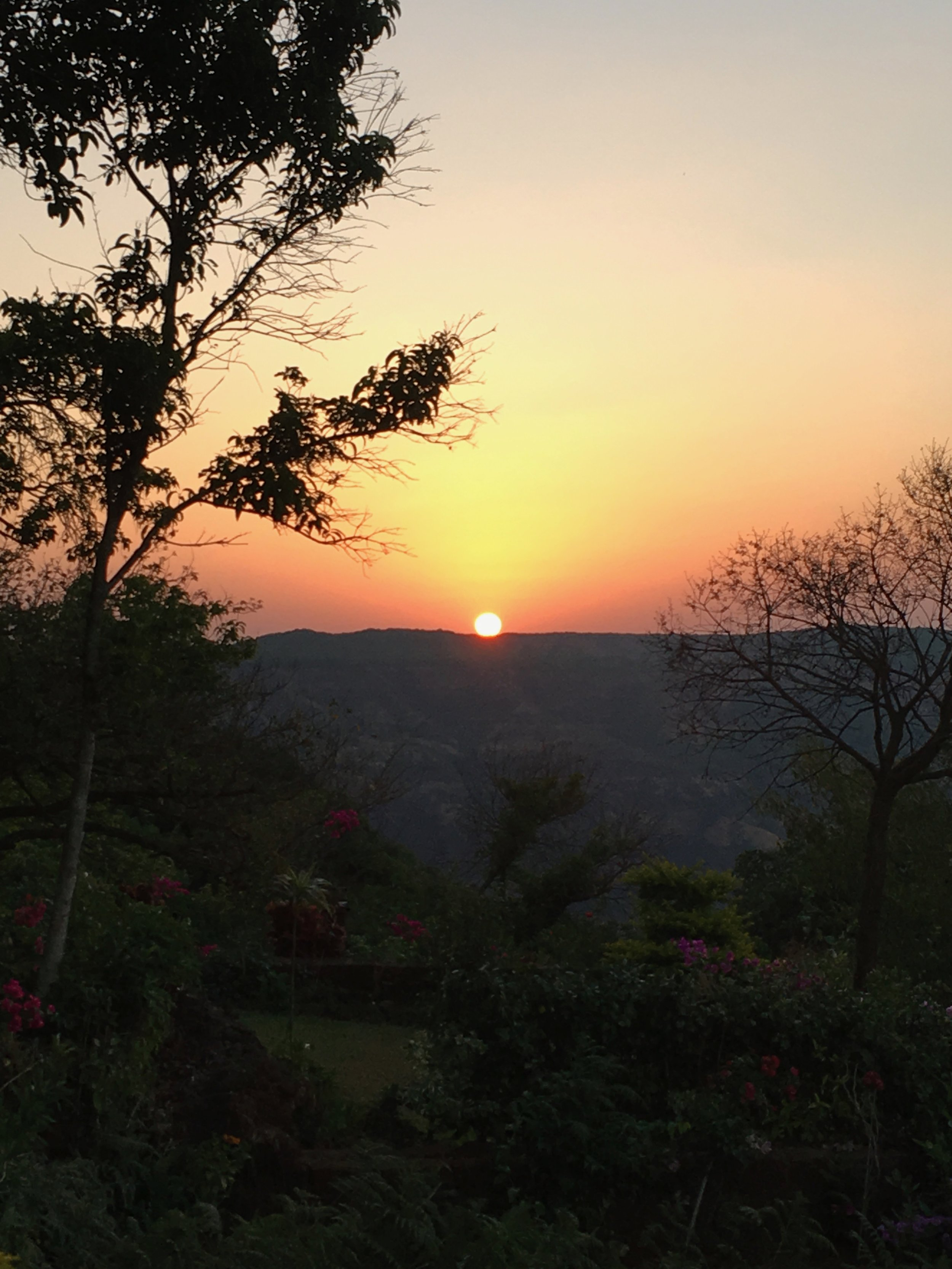 Sunrise in Mahableshwar
