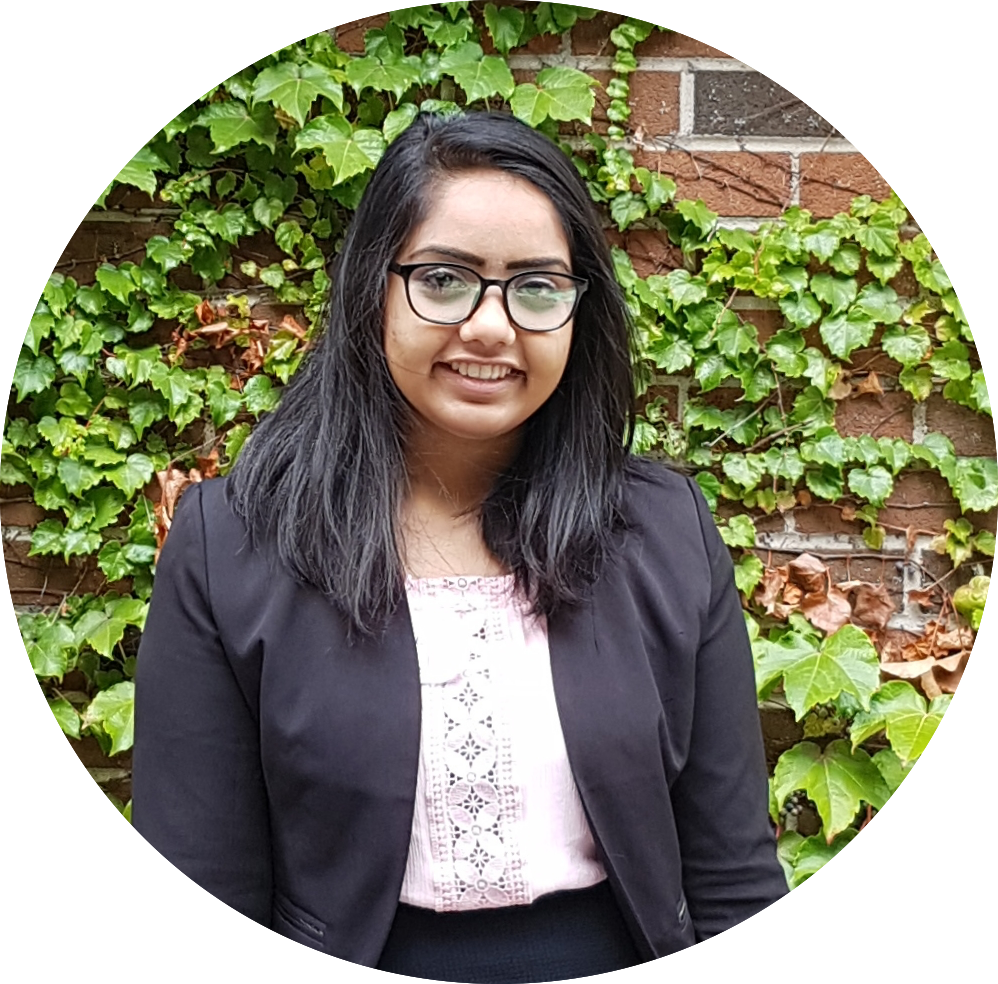SHIVANI PATEL   Events Coordinator  2nd year, international Bachelor of Businesses Administration