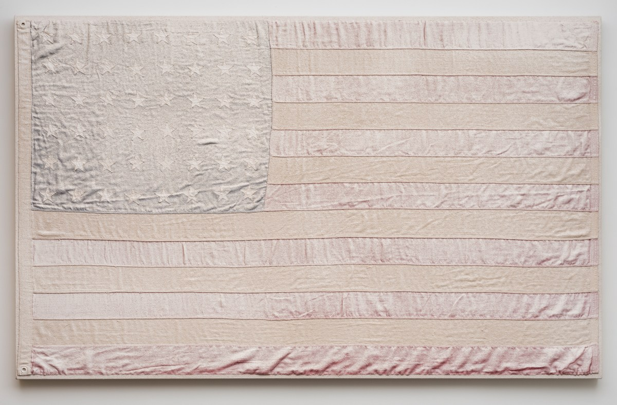 "AA Bronson, ""White Flag #2,"" 2015"