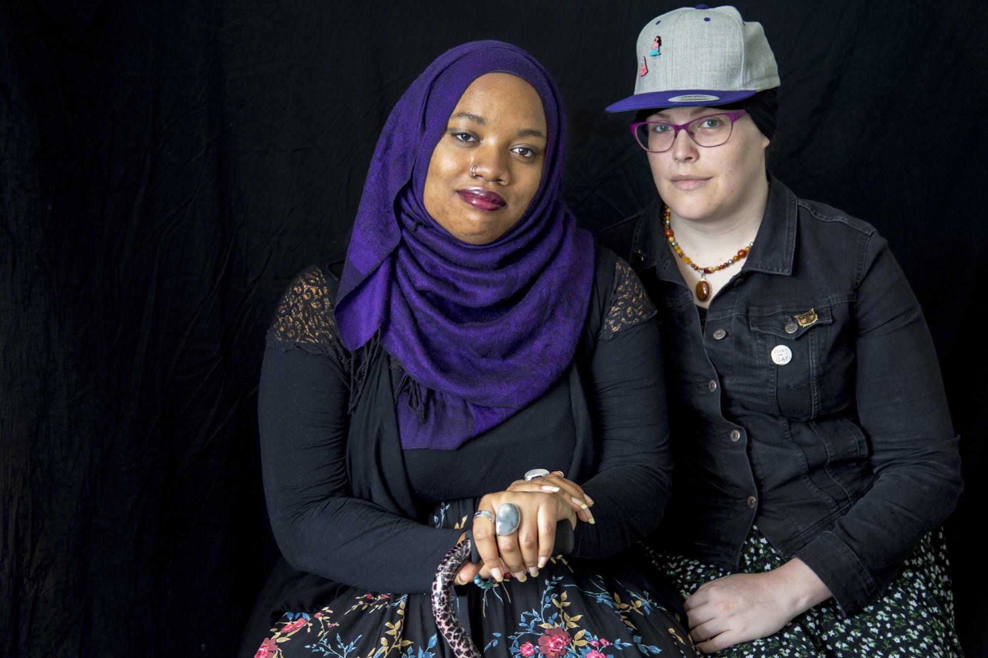 Zaynab Shahar and Mahdia Lynn/Photo: Monica Kass Rogers
