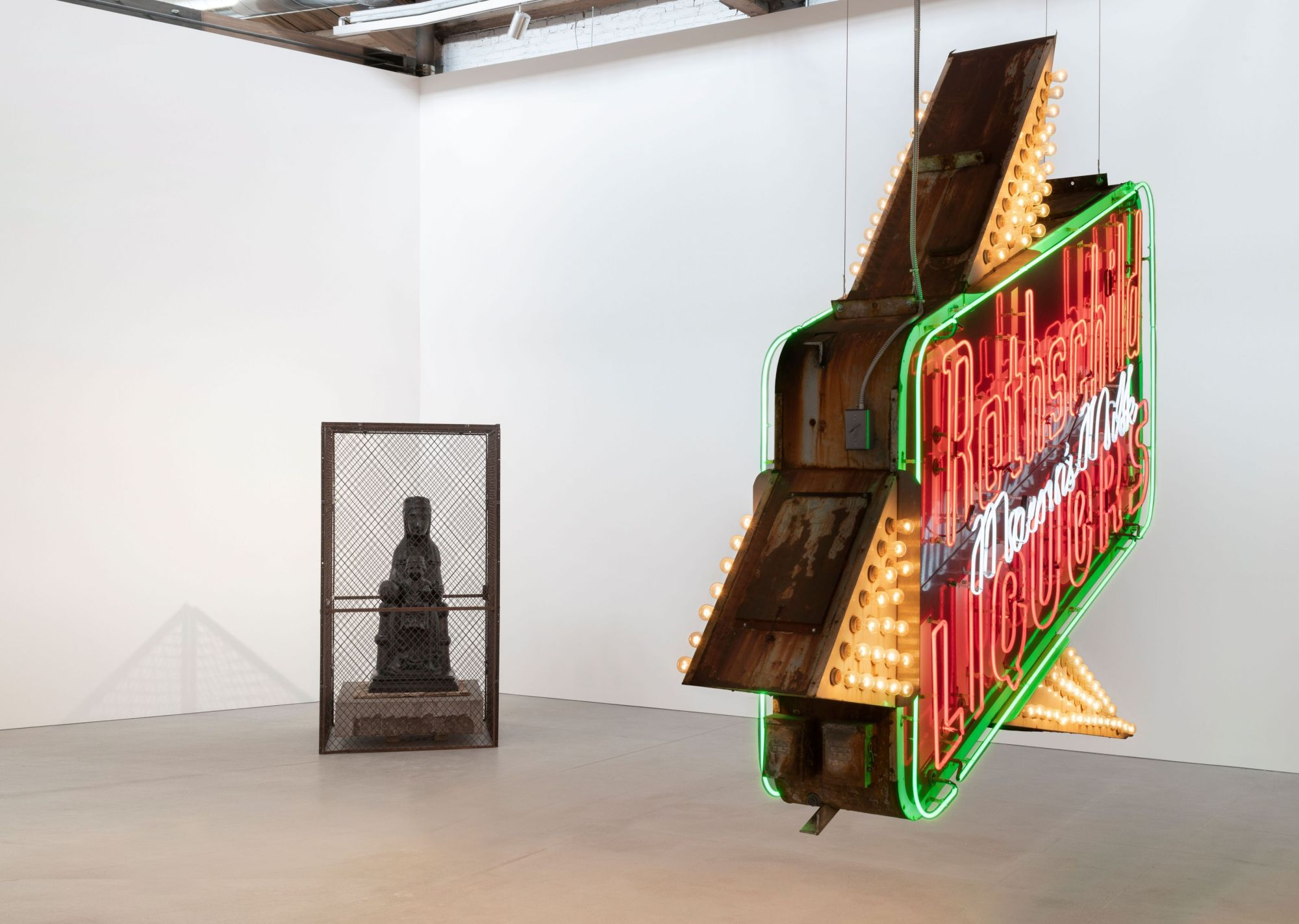 Theaster Gates, installation view of  Every Square Needs a Circle , Spring 2019