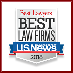 "The prestigious publication U.S. News & World Report and Best Lawyers has publicly announced its 2018 Edition of the ""Best Law Firms"" Rankings. We are happy to announce that our law firm has been awarded for three consecutive years on the following categories: – National Tier 2: Derivatives and Futures Law. – National Tier 3: Securitization and Structured Finance Law. – Metropolitan Tier 1: Miami  o CORPORATE LAW o DERIVATIES AND FUTURES LAW o SECURITIZATION AND STRUCTURED FINANCE LAW   In this 2018 Edition, our firm has also been included in the Mergers & Acquisitions Law Ranking for the Metropolitan area of Miami."