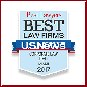 "The prestigious publication U.S. News & World Report and Best Lawyers has publicly announced its Seventh Edition of the ""Best Law Firms"" Rankings."
