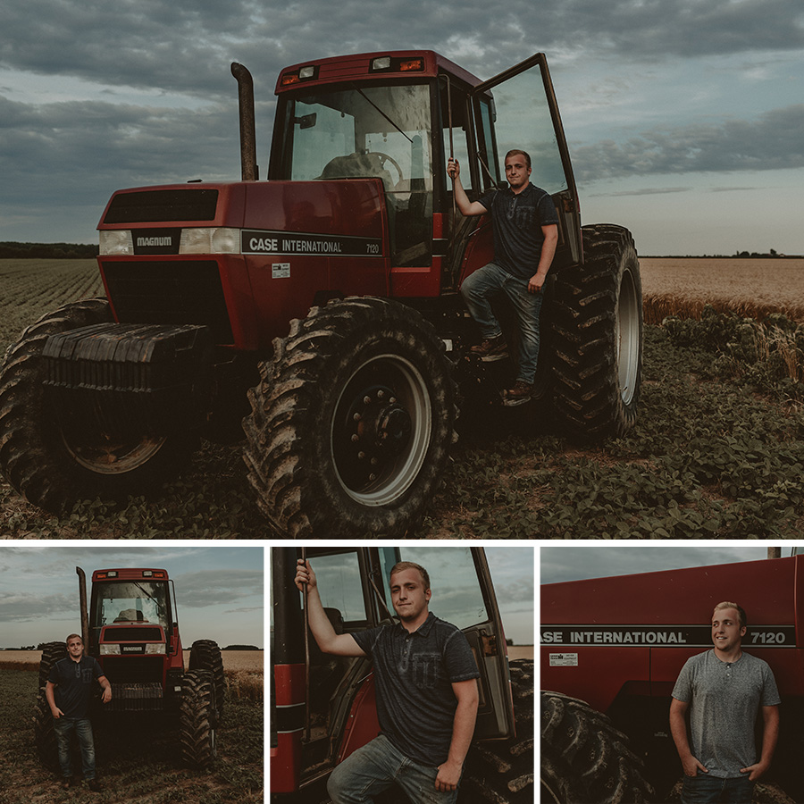 Rustic, Farm Senior Pictures