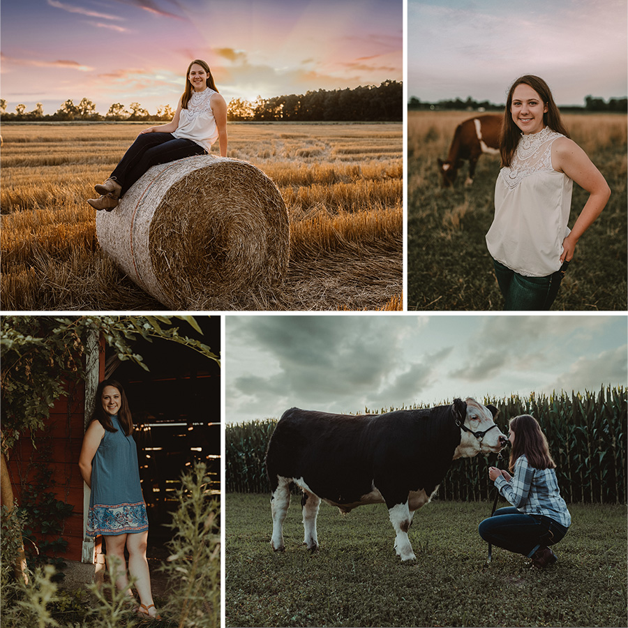 rustic, country senior pictures