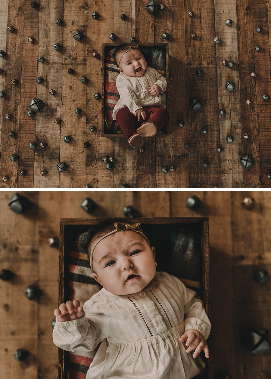 3 Month Old Rustic FarmHouse Session [Terry Farms Photography}