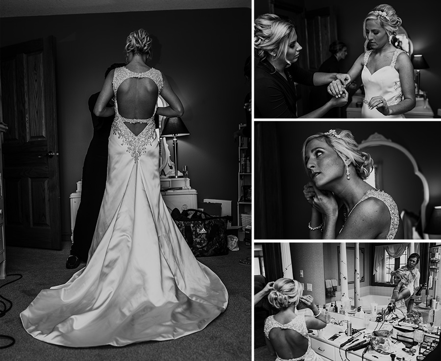 Wedding Day, Bride getting ready [Terry Farms Photography]