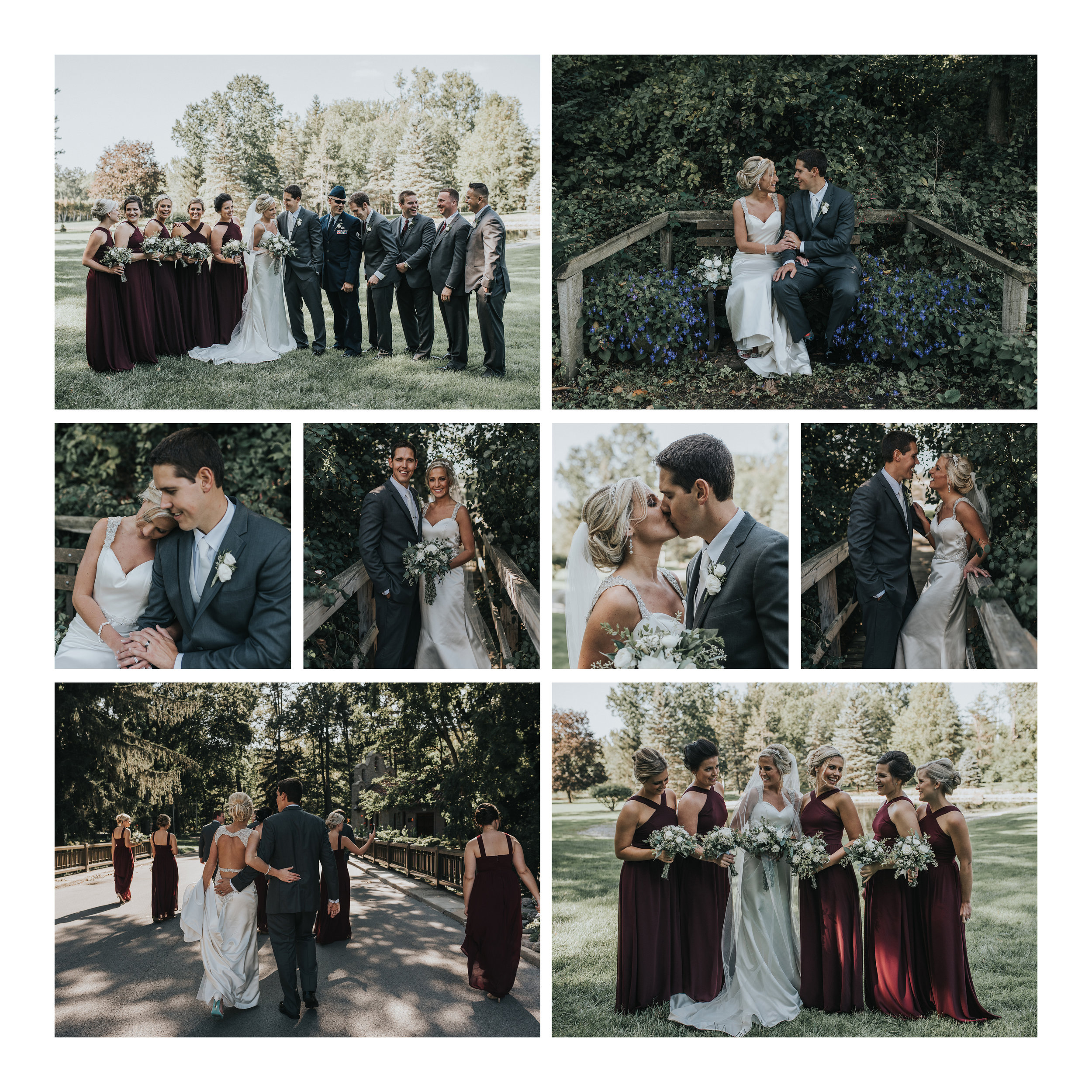Ohio Garden Wedding [Terry Farms Photography]
