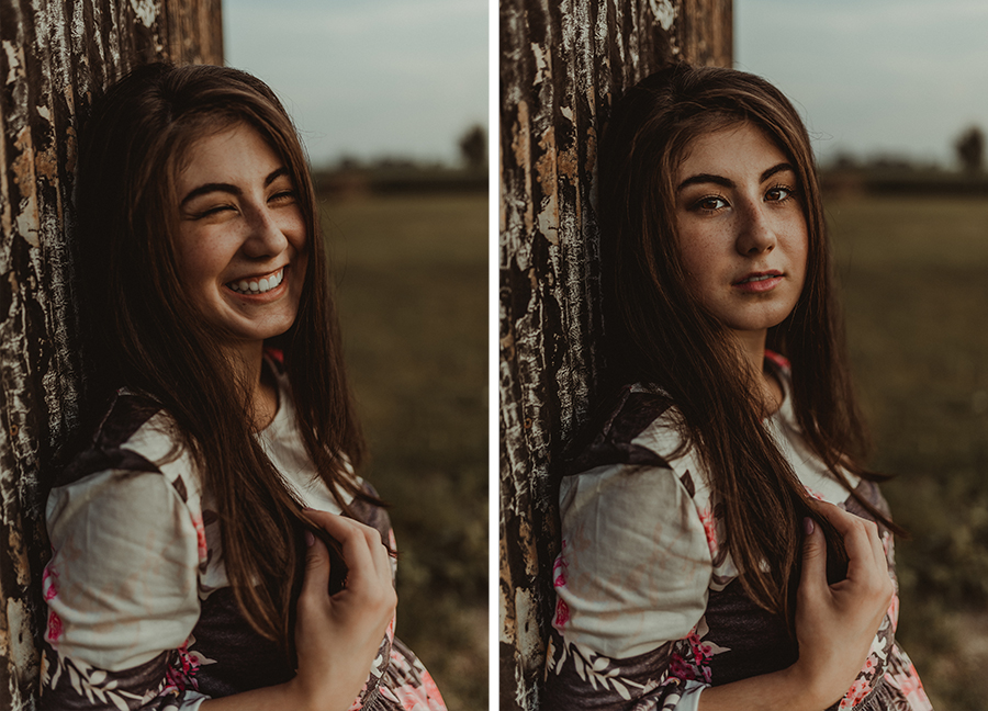 Rustic Senior Portrait [Terry Farms Photography]