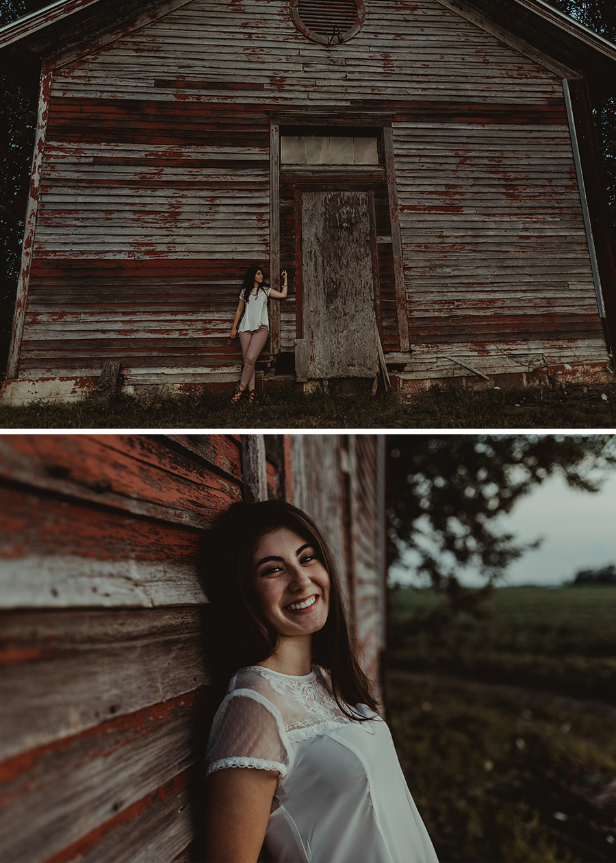 Rustic Senior Farm Session [Terry Farms Photography]