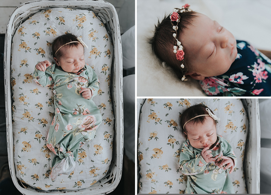 Vintage Inspired Newborn Photo Shoot [Terry Farms Photography]