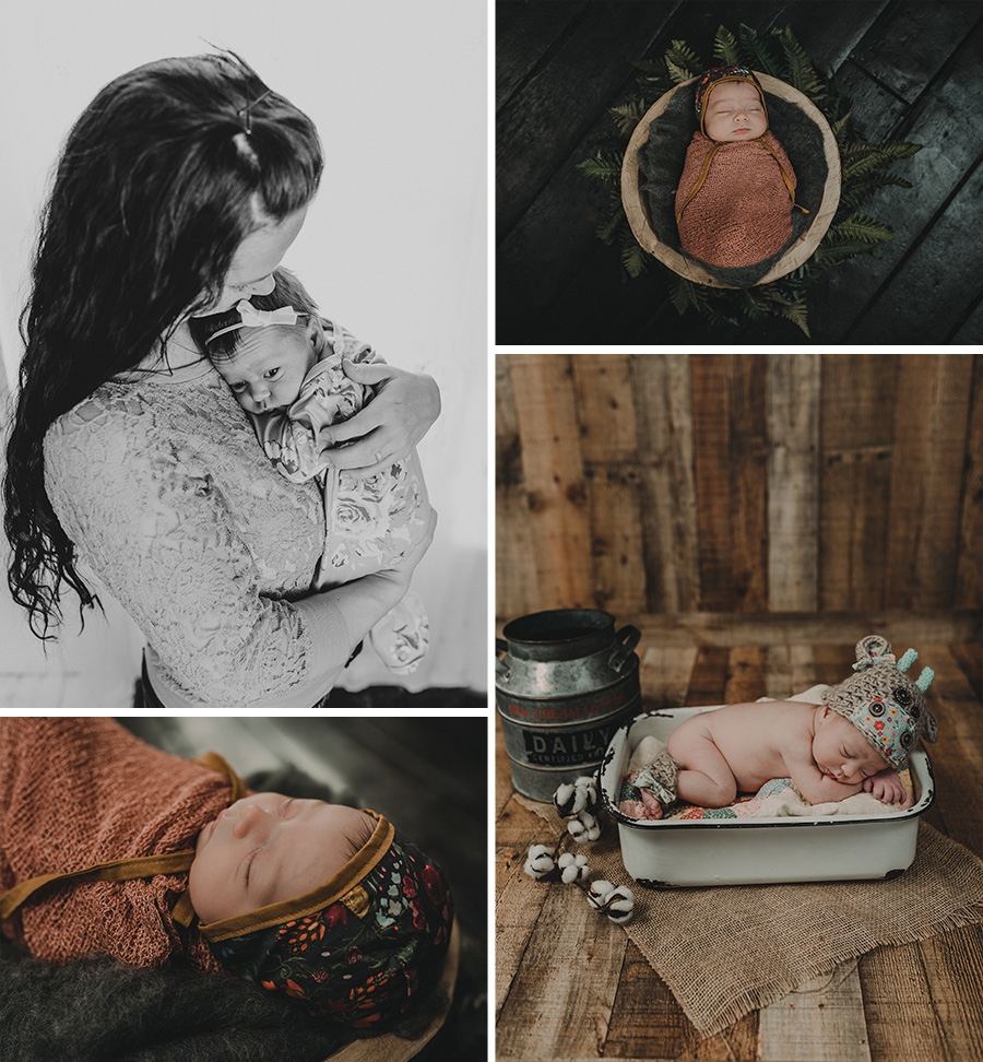 Rustic, Vintage Newborn Session [Terry Farms Photography]