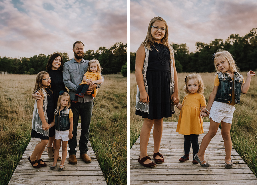 Rustic Sunset Family Session, Indiana [Terry Farms Photography]