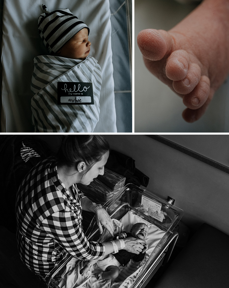 Fresh 48 Newborn Lifestyle Session [Terry Farms Photography]
