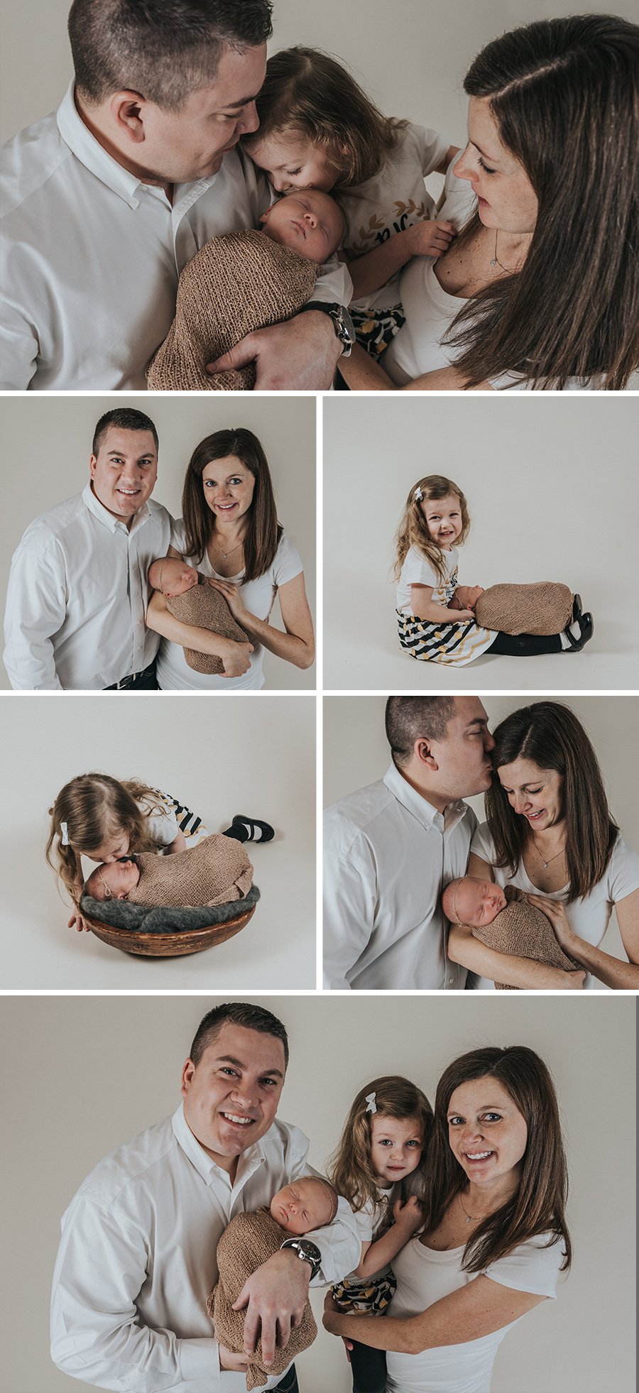 Vintage, Rustic Farmhouse Newborn Family Photo Session [Terry Farms Photography]