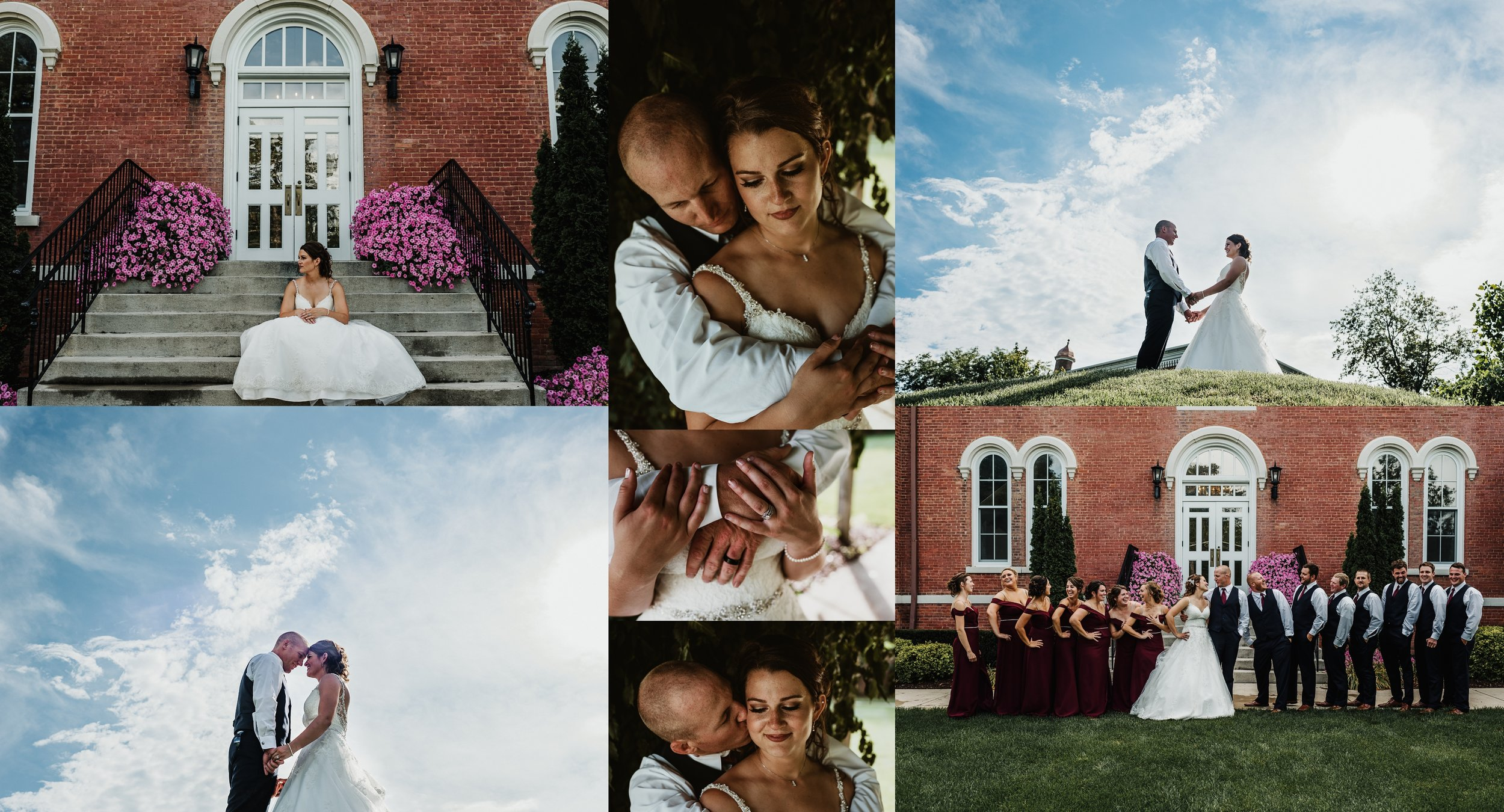 Vintage Summer wedding Adrian Michigan