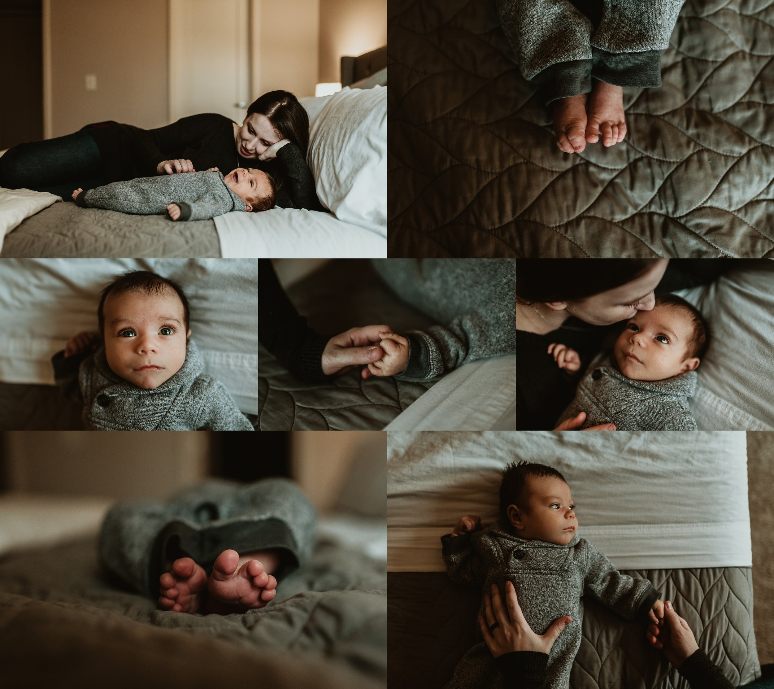 In Home Newborn Lifestyle Session | Terry Farms Photography | Newborn Photography | Documentary
