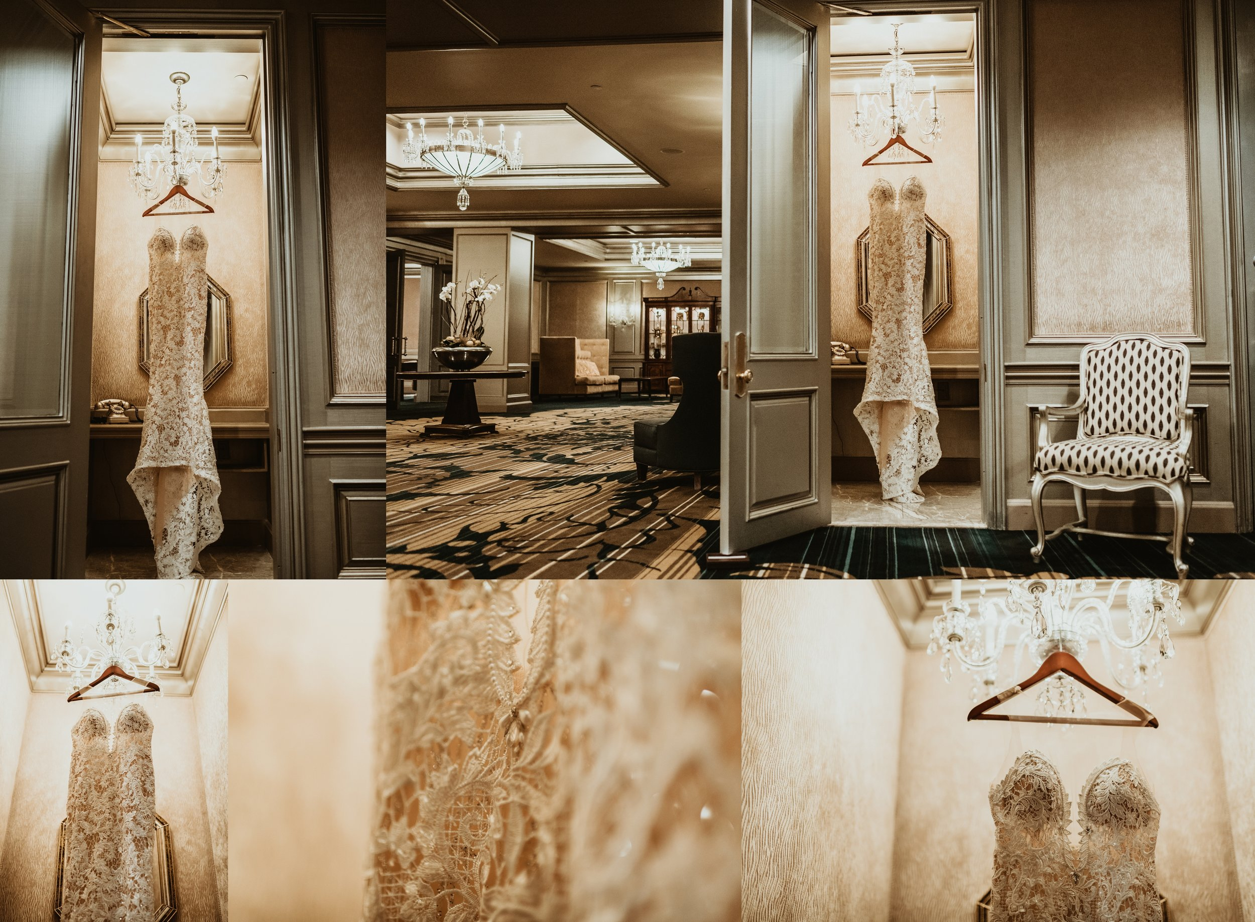 Classic Vintage Wedding   Ritz Carlton Atlanta, Georgia   Terry Farms Photography   Wedding Gown   Vintage Wedding Dress Photos