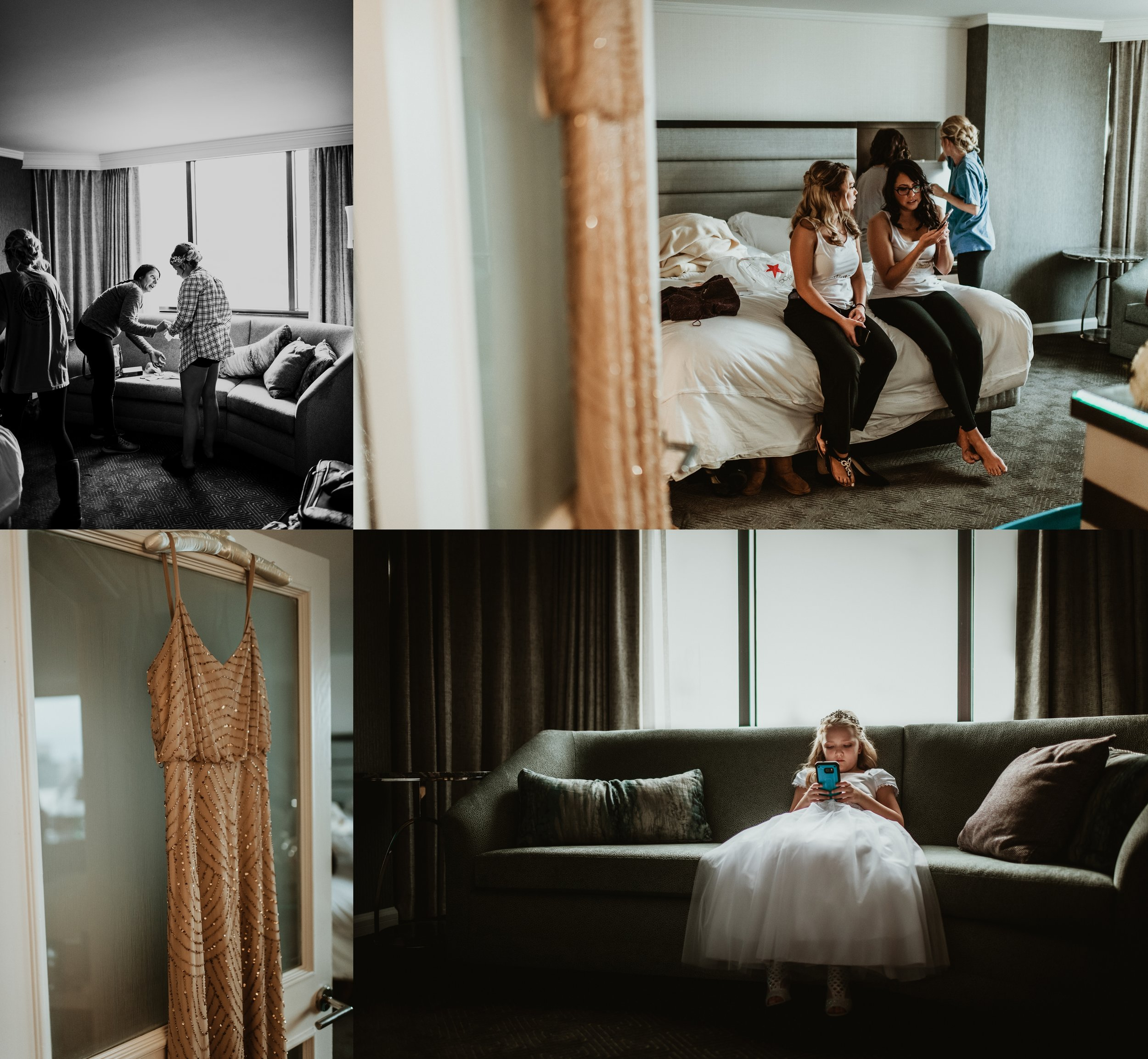 Classic Vintage Wedding | Ritz Carlton Atlanta, Georgia | Terry Farms Photography | Wedding Getting Ready Photos