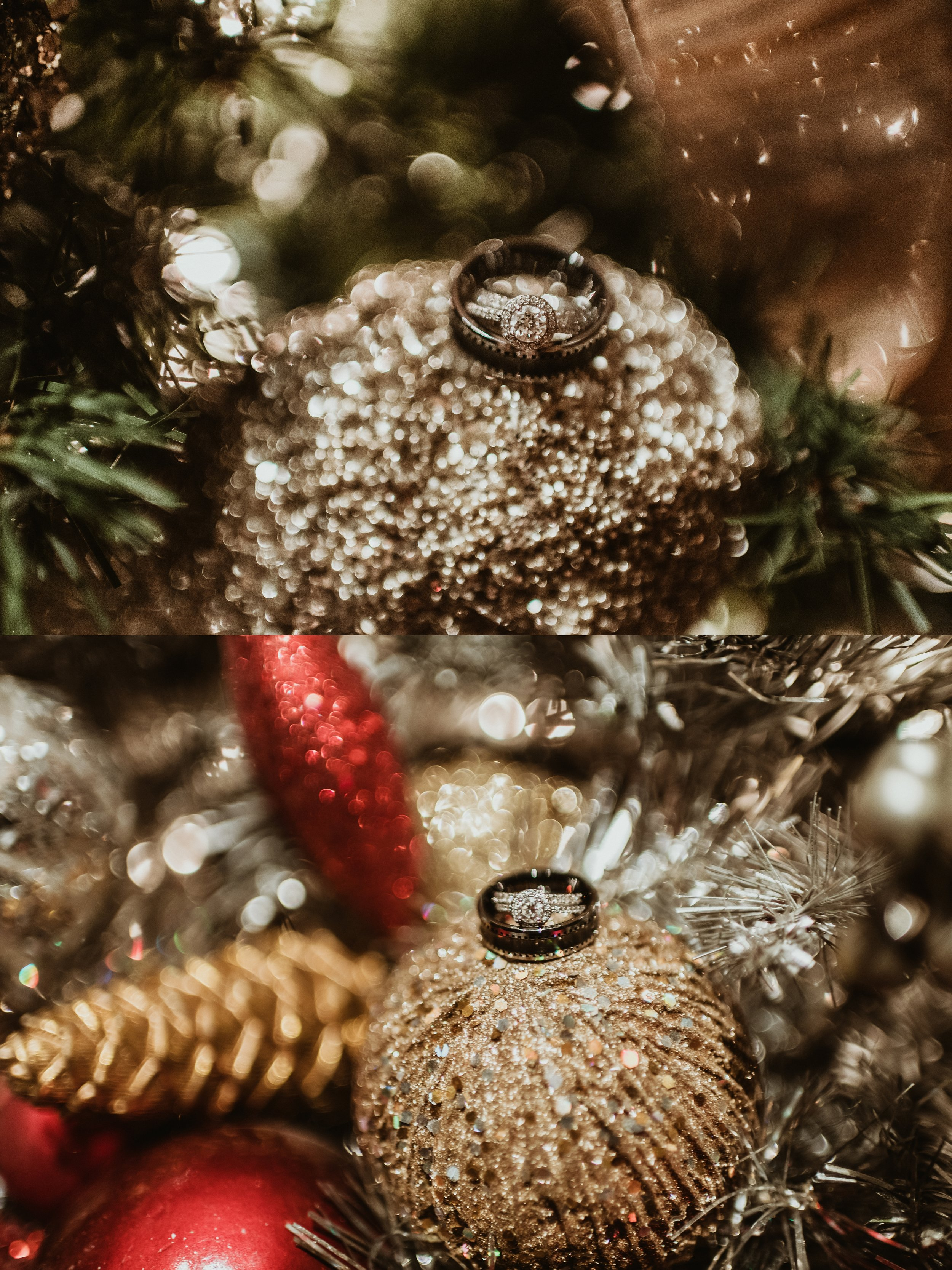 Classic Vintage Wedding | Ritz Carlton Atlanta, Georgia | Terry Farms Photography | Wedding Christmas Ring Shot