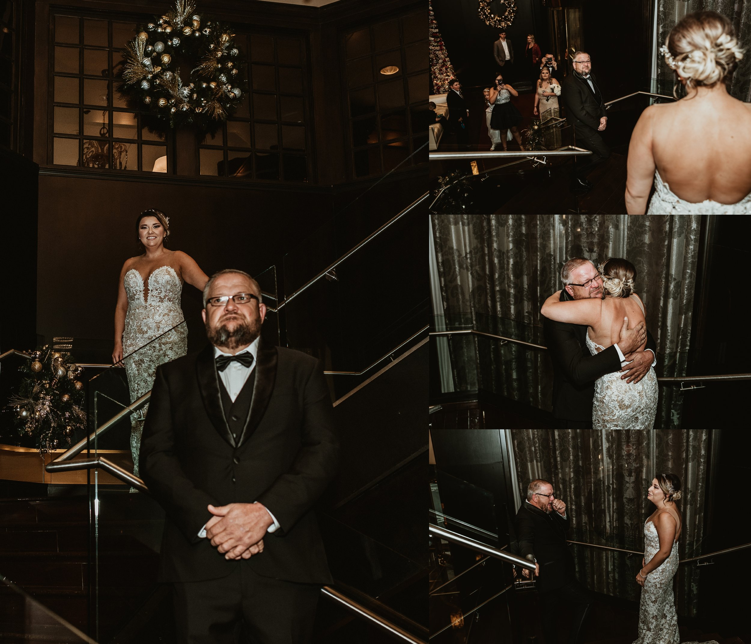 Classic Vintage Wedding | Ritz Carlton Atlanta, Georgia | Terry Farms Photography | Wedding Father First Look
