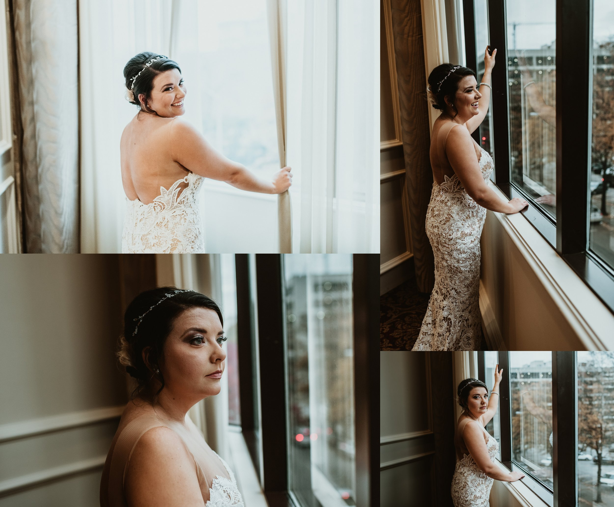 Classic Vintage Wedding | Ritz Carlton Atlanta, Georgia | Terry Farms Photography | Bridal Portraits
