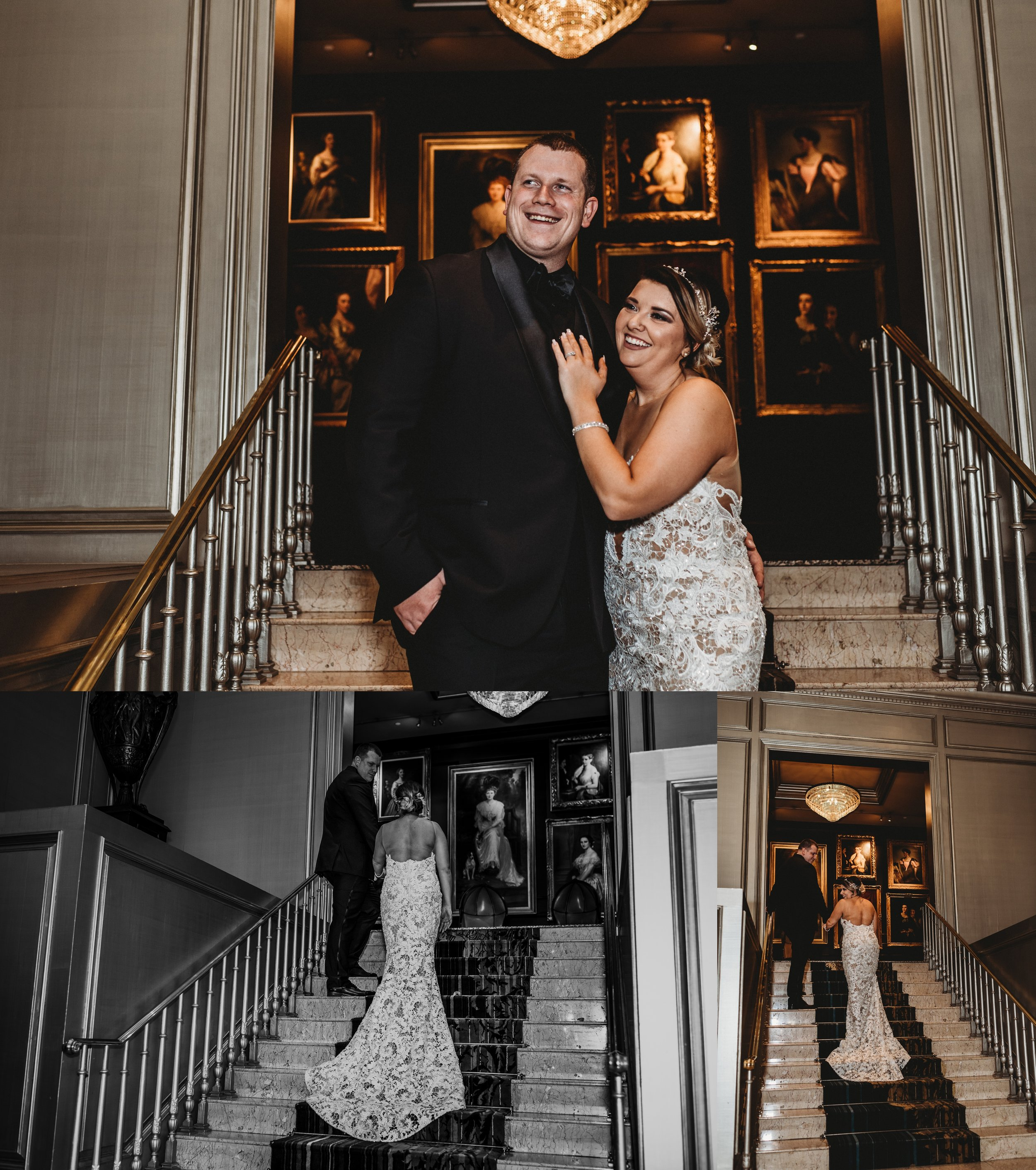 Classic Vintage Wedding | Ritz Carlton Atlanta, Georgia | Terry Farms Photography | Bride & Groom