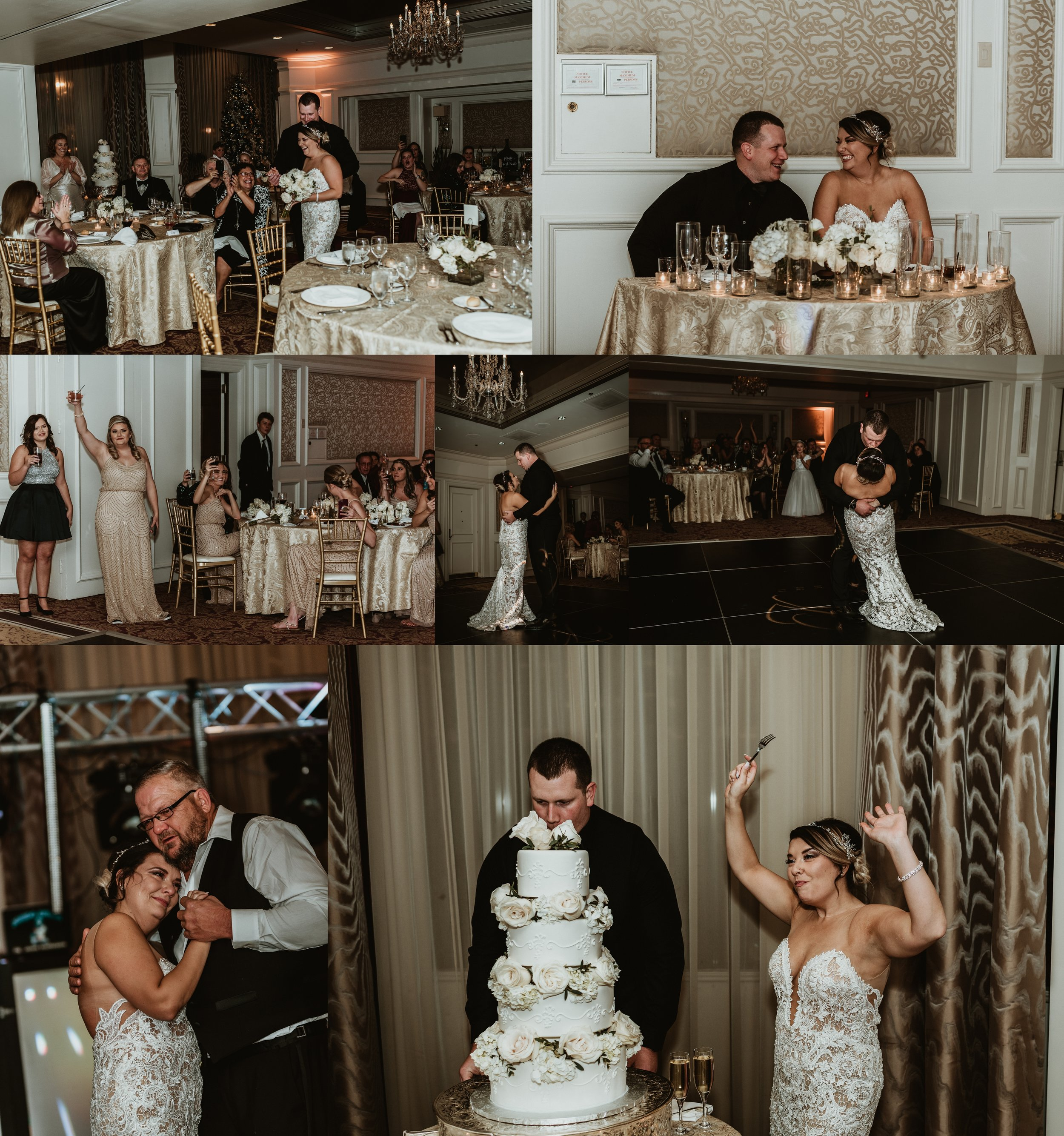 Classic Vintage Wedding | Ritz Carlton Atlanta, Georgia | Terry Farms Photography | Reception Photos