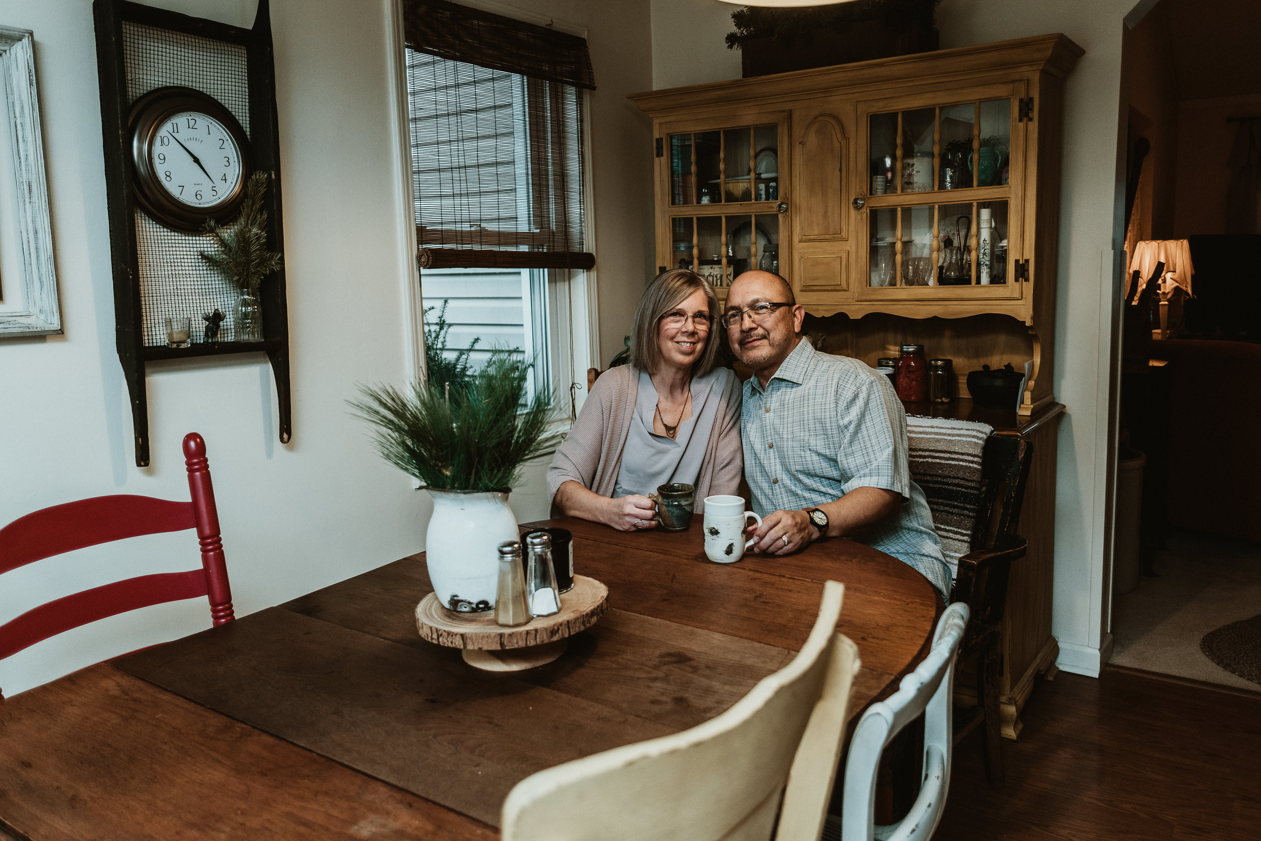 In Home Lifestyle Session | Anniversary Session | Farmhouse Photography | Documentary Photography | Vintage Rustic