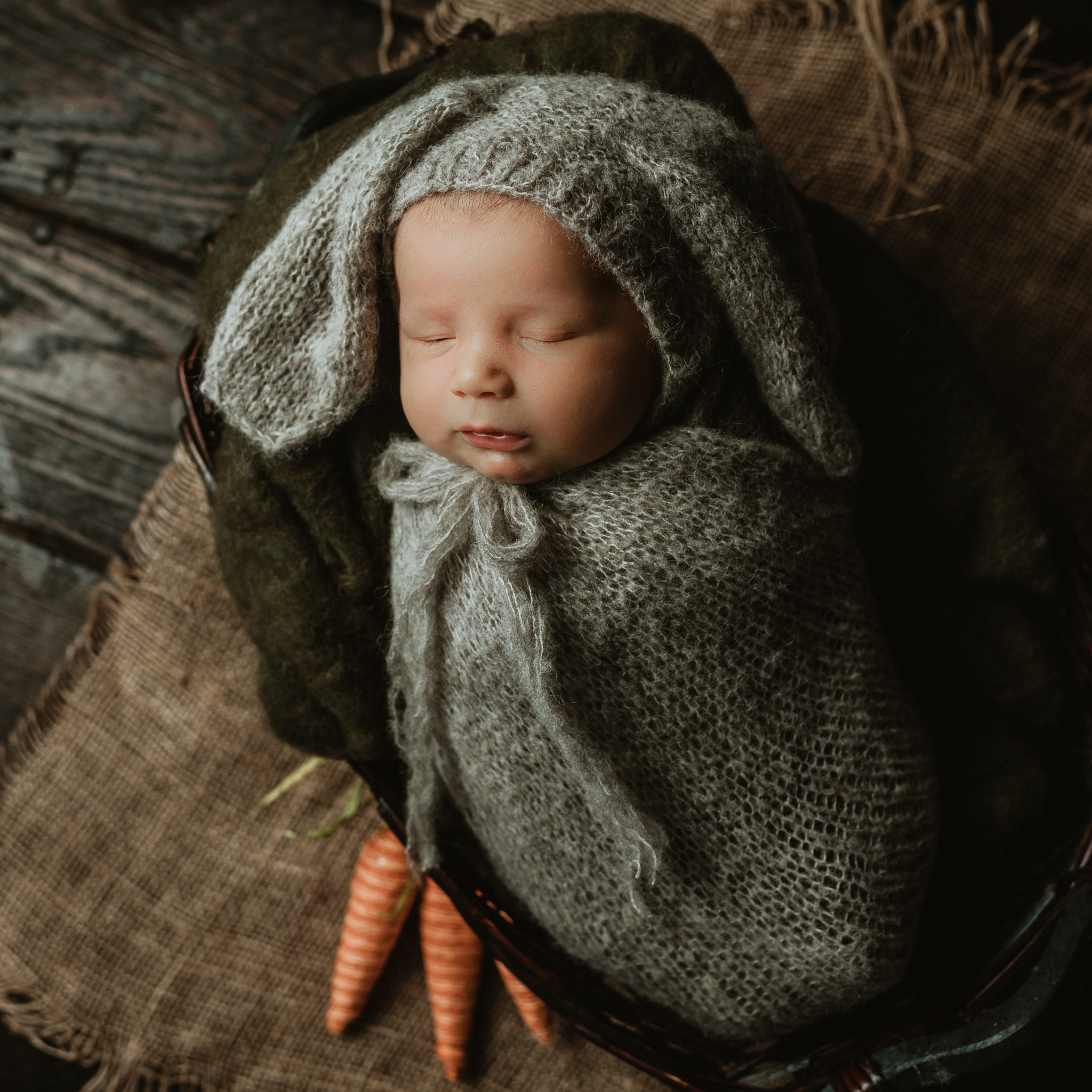 Newborn Easter | Terry Farms Photography