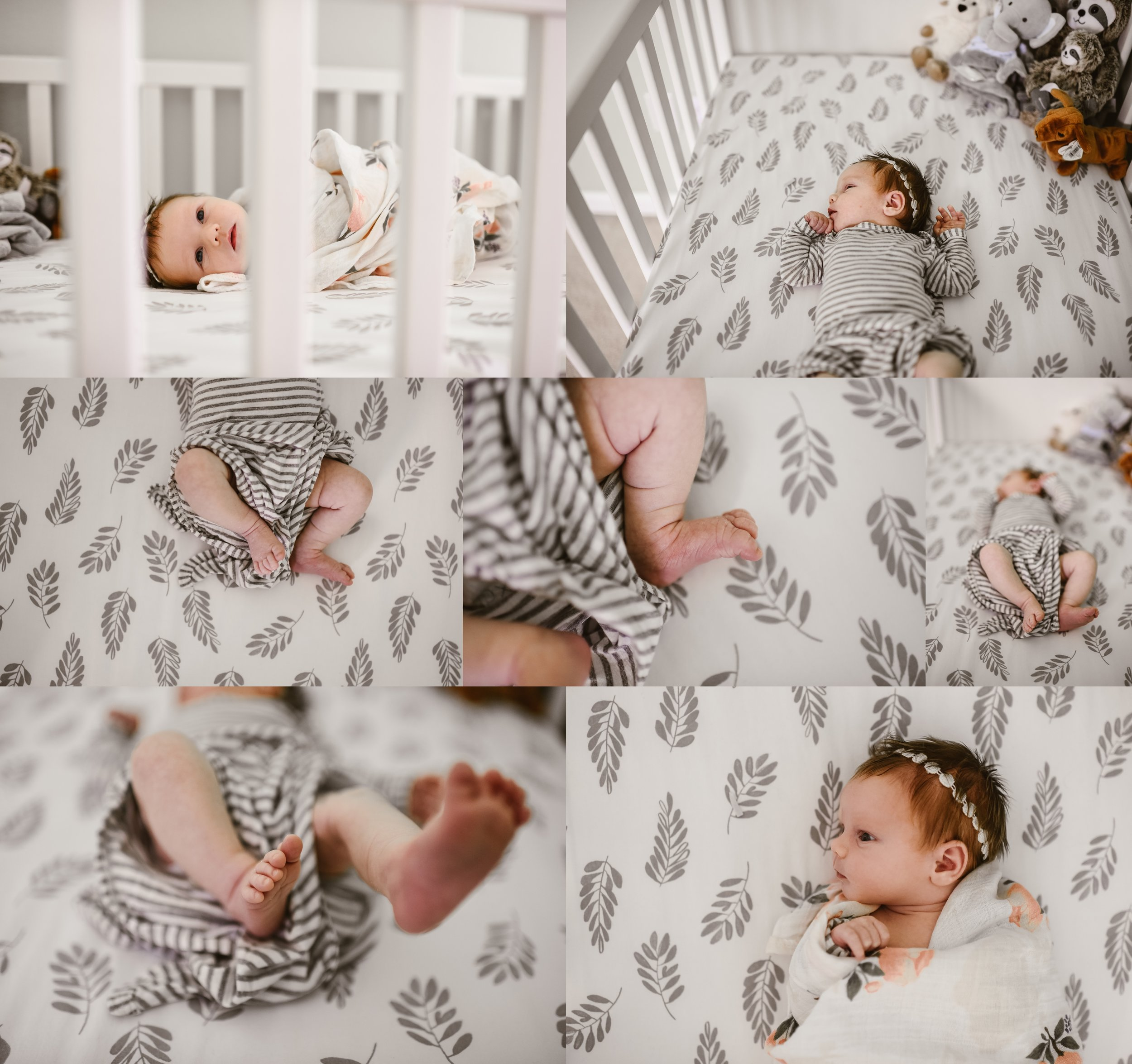 In Home Lifestyle Newborn Session | Baby Girl | Terry Farms Photography | Documentary Baby Photography