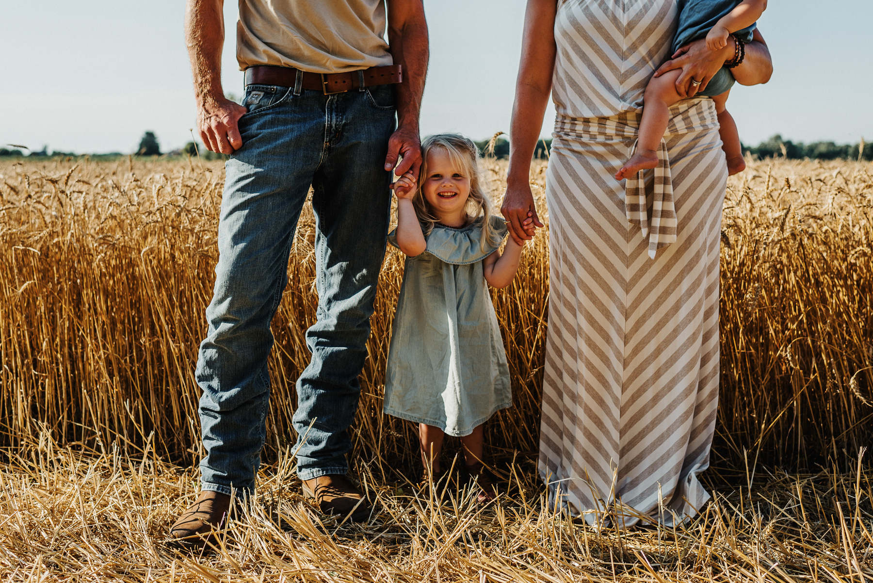 Wheat Field Photo Session