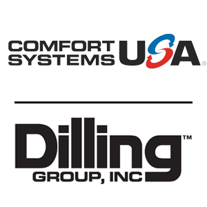 July, 2018: Comfort Systems USA acquires Dilling Group (Logansport, IN)