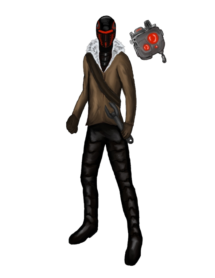 Board game character concept I did in 2012.