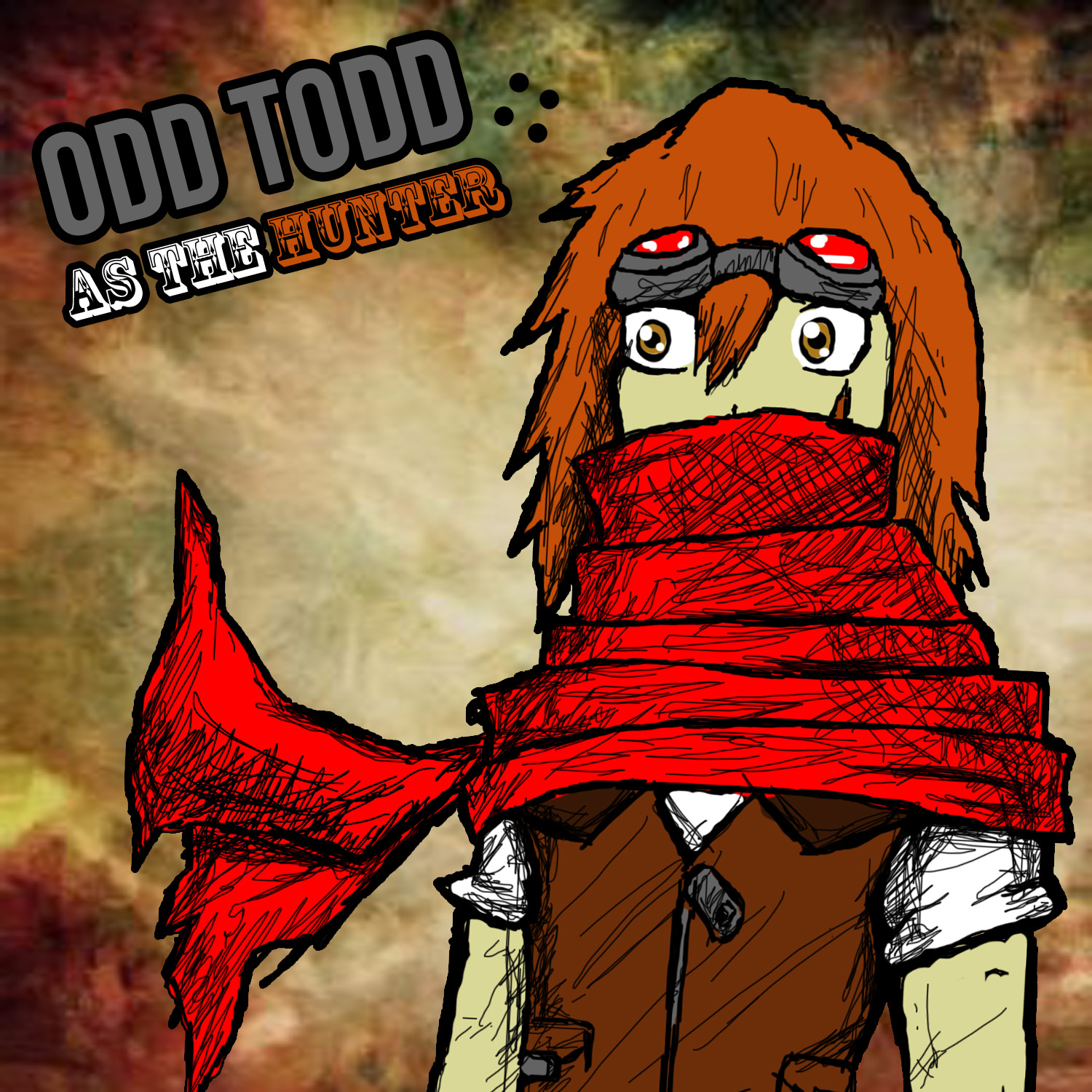 Odd Todd designed by Trey Falco and illustrated by Vincent Baker