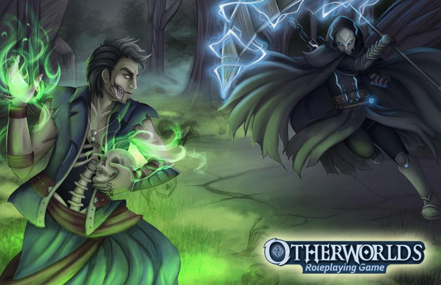 Otherworlds® RPG - looking for Adventuring, vampires, & lightning swords?