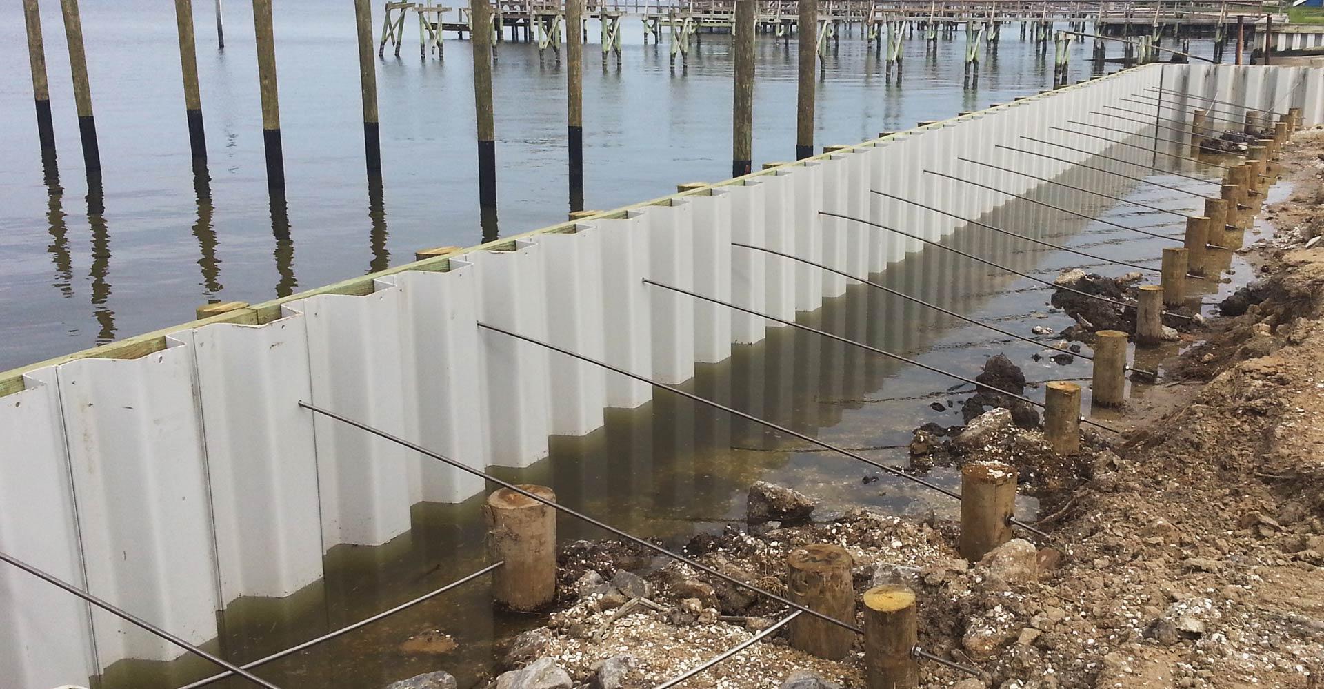 splash marine construction seawalls