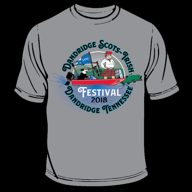 This is the artwork for our Official 2018 Festival T-Shirt. They will be on sale at the CaberDancer tent in front of the Visitors Center on Main street during the festival.