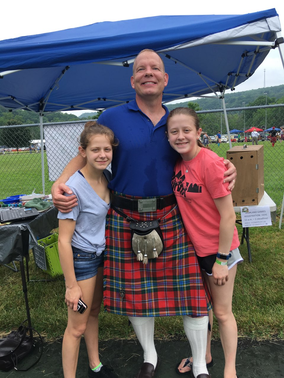 John Miles  , reitired Marine and active duty Scots-Irish Heritage expert, will be presenting at Maury Middle School on Friday the 28th and on Main Street during the Festival on Saturday.