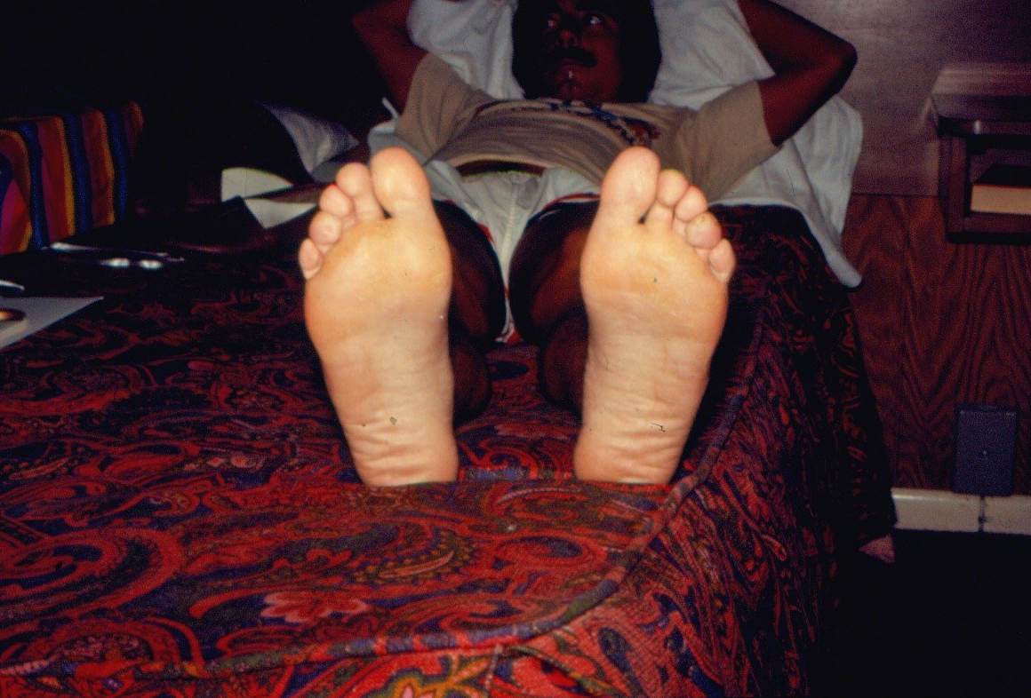Feet – surprisingly, seem to be in good shape!
