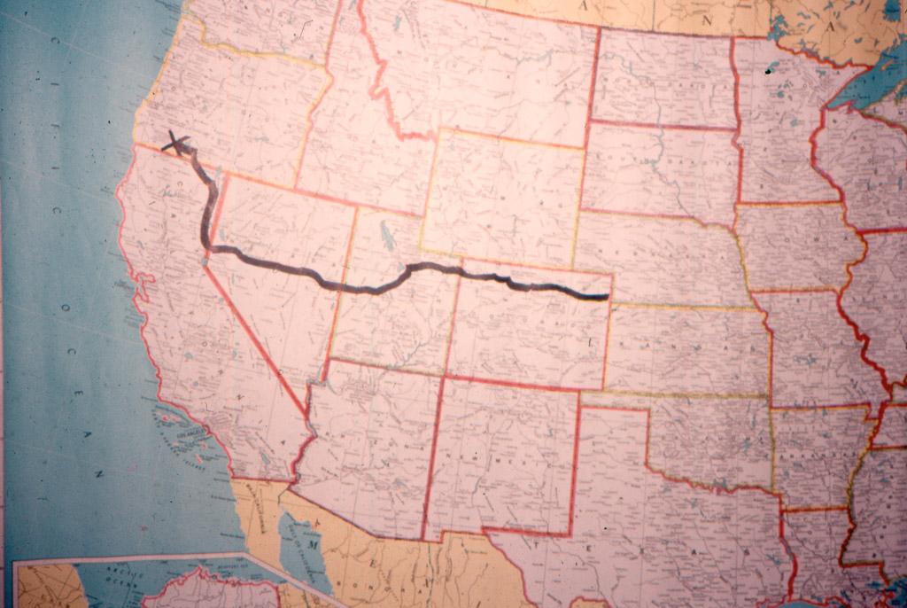 Leaving Colorado, entering Nebraska.