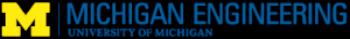 University of Michigan College of Engineering - Gold Level Sponsor