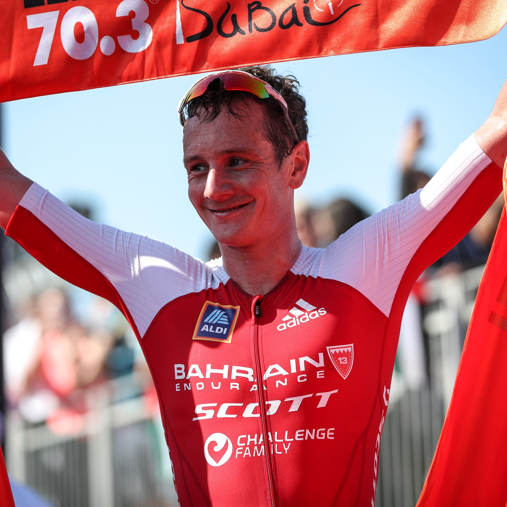 ALISTAIR BROWNLEE   Two-time Olympic gold medalist, two-time ITU World Champion