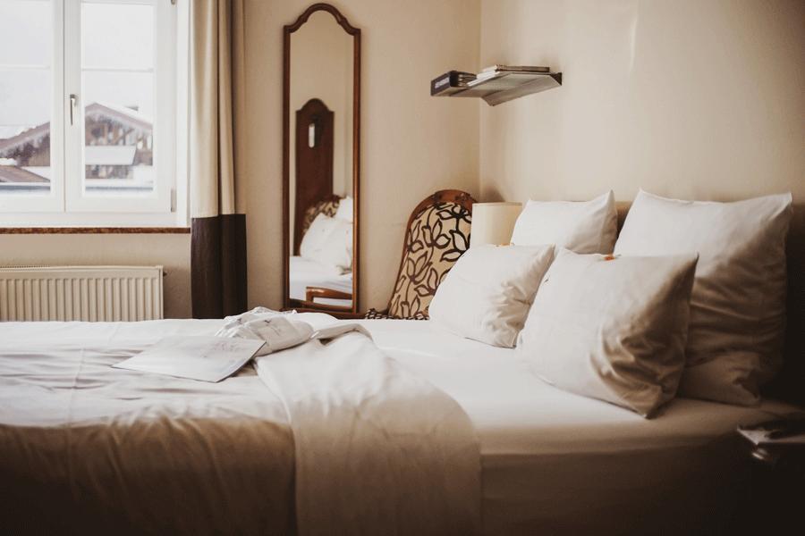 Doppel Eco Bett mit Aussicht